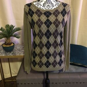 💚Michael Kors💚 Argyle Sweater